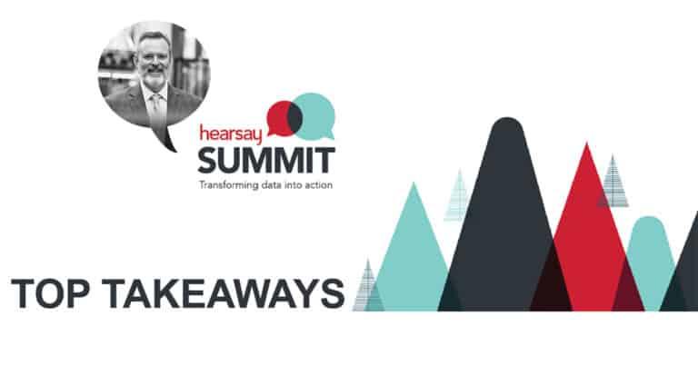 Hearsay Social Summit Top Takeaways